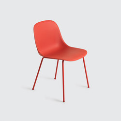 Fiber Side Chair | tube base | Visitors chairs / Side chairs | Muuto