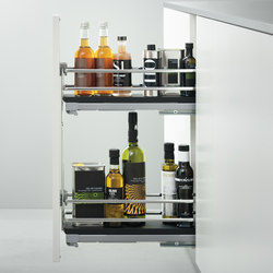 Base Units with Accessories | Pull-out base unit | Kitchen organization | Arclinea
