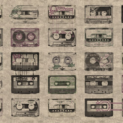 Fancy Mixtape | Bespoke wall coverings | GLAMORA