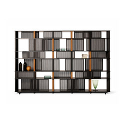 Lloyd bookcase | Office shelving systems | Poltrona Frau