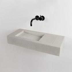 Flor Mini | Wash basins | Kast Concrete Basins