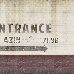 Urban Entrance | Bespoke wall coverings | GLAMORA