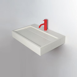Lux | Wash basins | Kast Concrete Basins