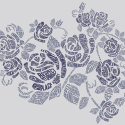 Analogy Rhyme & Reason   Bespoke wall coverings   GLAMORA