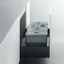 "Undersink Unit | Base unit with ""big bin"" separate waste disposal system 