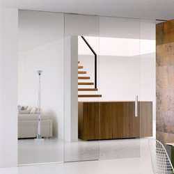 Invisibile Telescopico V-7100 | Internal doors | Metalglas Bonomi & INTERNAL DOORS FRAMELESS GLASS DOORS - High quality designer ...