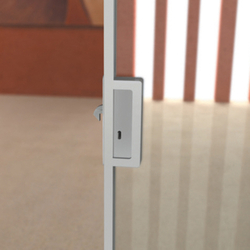 Easy Frame Telescopico P0-230 | Locks for glass doors | Metalglas Bonomi