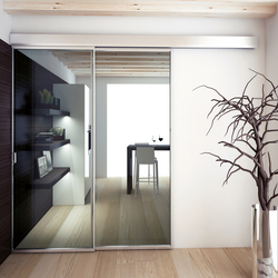 Easy Frame Telescopico P0-220 | Internal doors | Metalglas Bonomi