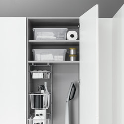 Tall Units | Broom tall unit | Kitchen organization | Arclinea