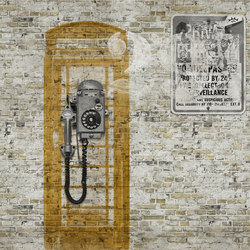 Vitaminic Street Life | Bespoke wall coverings | GLAMORA