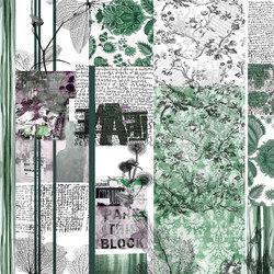 Stripes & Squares Turquoise Crush | Wandbeläge | GLAMORA