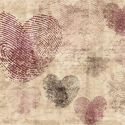 Flirt Heartprint | Wandbeläge | GLAMORA