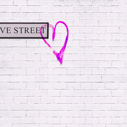 Flirt Love Street | Wall coverings | GLAMORA
