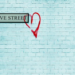Flirt Love Street | Bespoke wall coverings | GLAMORA
