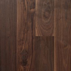 Landhausdiele Walnuss Amerikanisch Dunkel | Sols en bois | Trapa
