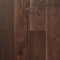 Landhausdiele Walnuss Amerikanisch Dunkel | Pavimenti in legno | Trapa