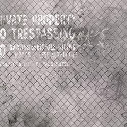 Wall Script Off Limits | Bespoke wall coverings | GLAMORA