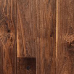 Landhausdiele Walnuss Amerikanisch Natur | Wood flooring | Trapa