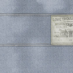 Wall Script Blue Jeans | A medida | GLAMORA