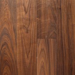 Landhausdiele Walnuss Amerikanisch Natur Naturell | Pavimenti in legno | Trapa