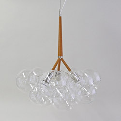 Large Bubble Chandelier | Iluminación general | PELLE