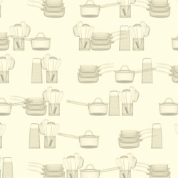 Template Soul Kitchen | Wandbeläge | GLAMORA