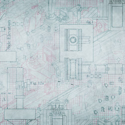 Template Blueprint | Bespoke wall coverings | GLAMORA