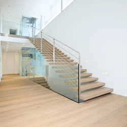 Treppen Kragarmtreppe | Wood stairs | Trapa