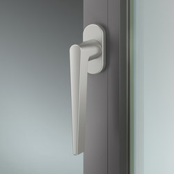FSB 34 1005 Window handle for narrow profiles | Lever window handles | FSB