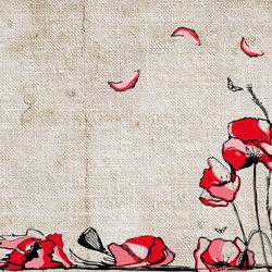 Impulses Poppies | Bespoke wall coverings | GLAMORA