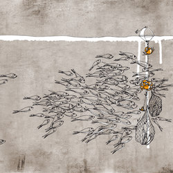 Impulses Sea | Revêtements de murs | GLAMORA