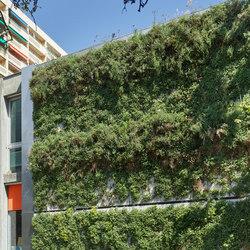 SKYFLOR® - Green Wall Facade System | Facade design | Creabeton Matériaux