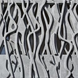 Concrete precast balconies - Wachtelnweg | Fassadenbeispiele | Creabeton Matériaux
