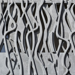 Concrete precast balconies - Wachtelnweg | Ejemplos de fachadas | Creabeton Matériaux