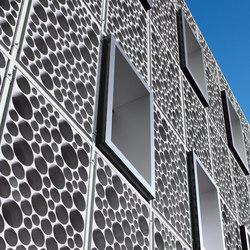 Architectural Concrete Facades - Vifort swatch | Ejemplos de fachadas | Creabeton Matériaux