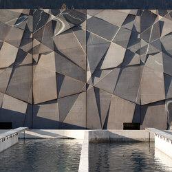 Architectural Concrete Facades - Tropenhaus | Ejemplos de fachadas | Creabeton Matériaux