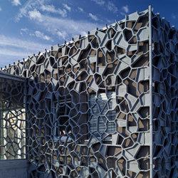 Architectural Concrete Facades - Granges | Ejemplos de fachadas | Creabeton Matériaux
