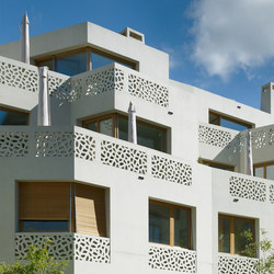 Architectural Concrete Facades - Patumbah Park | Ejemplos de fachadas | Creabeton Matériaux