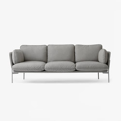 Cloud Three Seater LN3 desert stone | Lounge sofas | &TRADITION