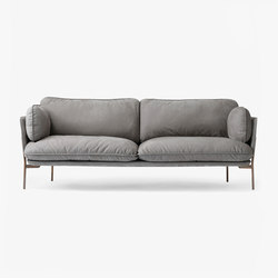 Cloud Three Seater LN3.2 nubuck | Canapés d'attente | &TRADITION