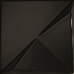 Aleatory black matt 3 | Wall tiles | ALEA Experience