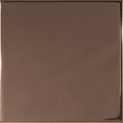 Aleatory copper gloss 1 | Ceramic tiles | ALEA Experience