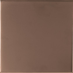 Aleatory copper matt 1 | Wall tiles | ALEA Experience