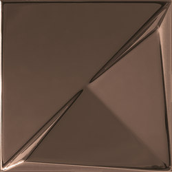 Aleatory copper gloss 3 | Ceramic tiles | ALEA Experience
