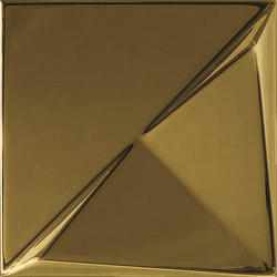 Aleatory gold gloss 3 | Wall tiles | ALEA Experience