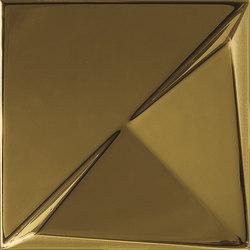 Aleatory gold gloss 3 | Wandfliesen | ALEA Experience