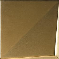 Aleatory gold matt 2 | Wall tiles | ALEA Experience