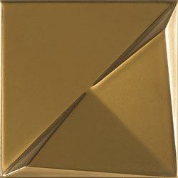 Aleatory gold matt 3 | Wall tiles | ALEA Experience