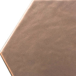 Geom copper matt | Wall tiles | ALEA Experience
