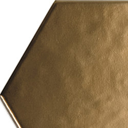 Geom gold matt | Ceramic tiles | ALEA Experience